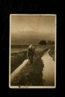 Cartolina Japan Monte Fuji 1912 Post Card Photography - Giappone