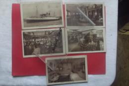 Cp Transports Maritimes Lot 5 Cartes - Piroscafi