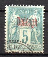 Col17  Colonie Dédéagh N° 1 Oblitéré  Cote 18,00€ - Dedeagh (1893-1914)