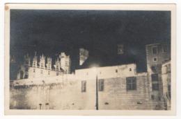 Château De Nantes (44) De Nuit. Photographie En Noir Et Blanc - Lieux