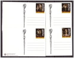 Netherlands 2005 Harry Potter Prepaid Postcards - Cinema