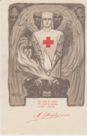 426 - CARTOLINA - PRO CROCE ROSSA - ILLUSTRATORE ORSOLINI - Croce Rossa
