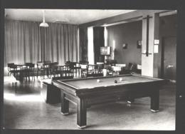 Sainte-Ode - Sanatorium Belgica - Foyer-salle De Jeux - Carte Photo - Billard / Biljart - Sainte-Ode