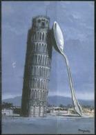 Carte Postale - René Magritte - La Nuit De Pise - Éditions ADAGP - TTBE - Non Voyagé - Peintures & Tableaux