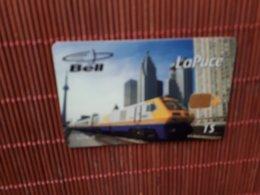 Phonecard Train Only 2050 EX Used Rare - Treinen