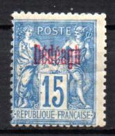 Col17  Colonie Dédéagh N° 5 Neuf X MH  Cote 40,00€ - Dedeagh (1893-1914)