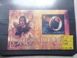 Man Neuf Xx Numero Bloc 54 Lord Of The Ring ( Cinema ) - Man (Ile De)
