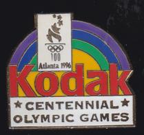60248-Pin's-Kodak.Photo.Jeux Olympiques D Atlanta.... - Fotografia