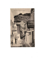 CARTOLINA EGEO OCCUPAZIONE ITALIANA I G.M. LERO (EGEO) – VIA DEL MUNICIPIO - Grecia
