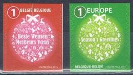 Année 2015 - COB 4567a** Et 4568a** - (du B155 Et B156) - Timbres De Noël - Cote 5,50€ - Unused Stamps