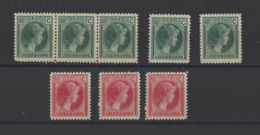 LUXEMBOURG.  YT  N° 173-178  Neuf **  1926 - 1926-39 Charlotte Right-hand Side