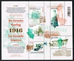 Année 2016 - COB BL 236** (4594 à 4598) - La Grande Guerre - La Résistance - Cote 16,00€ - Bloques 1962-....