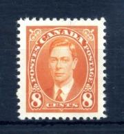 1937 CANADA N.195 MNH ** - 1937-1952 Regno Di George VI