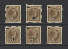 LUXEMBOURG.  YT  N° 258  Neuf **  1935 - 1926-39 Charlotte Right-hand Side