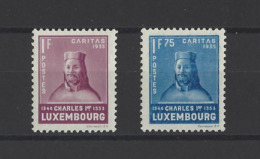 LUXEMBOURG.  YT  N° 279-281  Neuf **  1935 - Luxembourg