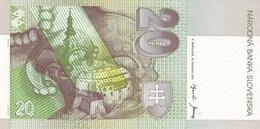 SLOVAKIA P. 20e 20 K 2001 UNC - Slowakije