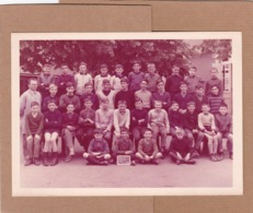Ancienne Photo De Classe, 1966, Angers, Maine-et-loire, 49, Saint-serge, Seconde D - Personnes Anonymes