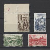 LUXEMBOURG.  YT  N° 406/409  Neuf **/*  1948 - Luxemburg