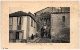 65 MAULEON-MAGNOAC - L'église - Frankrijk