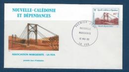 "Nle-Caledonie FDC YT 503 "" Sauvegarde Du Patrimoine "" Enveloppe Du 10 5 1985 LA FOA - Briefe U. Dokumente"
