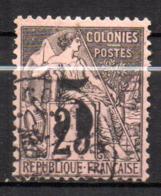 Col17  Colonie Cochinchine N° 4 Oblitéré  Cote 60,00€ - Oblitérés