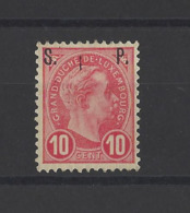 LUXEMBOURG.  YT  Timbres De Service N° 81  Neuf **  1895 - Officials