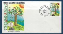 """Nle-Caledonie FDC YT 509 """" Reboisement """" Enveloppe Du 18.7.85 Nouméa - Briefe U. Dokumente"""