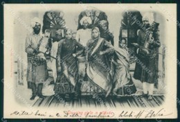 India Bombay Costumes Ethnic Dancing Girls In Attitude Cartolina KB8607 - Indien