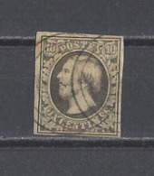 LUXEMBOURG.  YT  N° 1  Obl  1852 (voir Détail) - 1852 William III