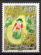 Nouvelle-Calédonie 2019 - Fête Des Terroirs Calédoniens, L'Avocat à Maré - 1 Val Neuf // Mnh - Nueva Caledonia