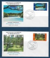 "Nle-Caledonie FDC YT 514 & 515 "" Paysages "" Enveloppes 26.3.86 Nouméa - Briefe U. Dokumente"