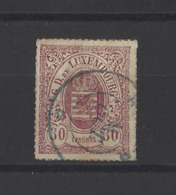 LUXEMBOURG.  YT  N° 21  Obl  1865 - 1859-1880 Coat Of Arms