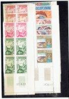 TP LAOS - ASIE - TP BLOCS DE 4 COINS DATES - N°51/54 - 55/58 - XX - 1957 - Laos
