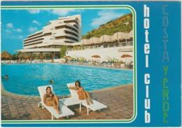 Italie :  Costa Verde , Hotel  Club  , Cefalu  , Sicile ( Piscine , Jeune Femme  Maillot De  Bain ) - Otras Ciudades