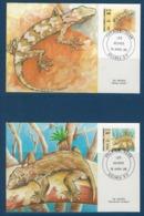 "Nle-Caledonie FDC YT 516 & 517 "" Faune "" Cartes Postales 16.4.86 Nouméa - Briefe U. Dokumente"