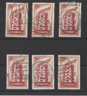 LUXEMBOURG.  YT  N° 515  Obl  1956 - Luxembourg