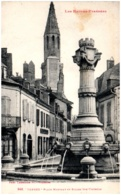65 TARBES - Place Montaut Et église Ste-Thérèse - Tarbes