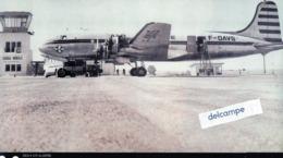 AVIATION -  DC 4 -  AIR ALGERIE Sur Le Tarmac De L' Aéroport De GHARDAIA - NOUMERATE - Reproducciones