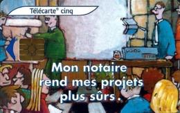Télécarte Promotionnelles 5 U - Gn532 - Chambre Des Notaires De L'Essonne (luxe) - GEM2 - 5 Einheiten