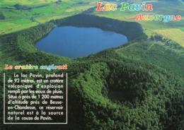 CPM - N8 - PUY DE DOME - LAC PAVIN - France