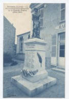 45--Escrennes  Le Monument AUX MORTS  De La Grande Guerre 1914 - 1918  --RECTO/VERSO - B73 - Frankrijk
