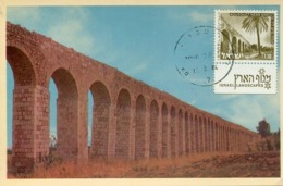 48177 Israel,maximum 1984 The Roman Aquecuct Of Acre Akko, Pasha's Aqueduct,  Archeology - Archaeology