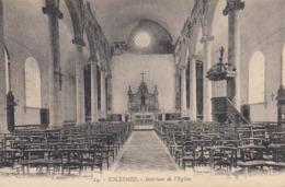 59 - Solesmes - Intérieur De L'Eglise - Solesmes