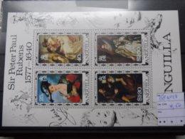Rubens Peintre Bloc 18 Anguilla - Rubens