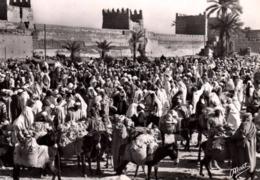 CPSM - MARRAKECH - LA FOULE Au SOUK ... - Marrakech
