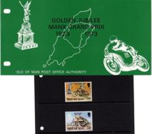 Satz Grosser Preis Von Man In Praesentationsmappe 1973 (80720) - Man (Insel)