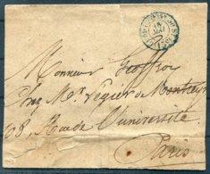 France Cover - Paris - Poststempel (Briefe)