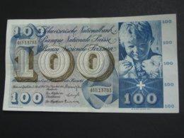 100 Francs SUISSE 2 Avril 1964 - Banque Nationale Suisse - Schweizerische Nationalbank  **** EN ACHAT IMMEDIAT **** - Zwitserland