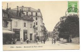 GENEVE-Boulevard Du Pont D'Arve...1911  Animé - GE Geneva