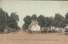 Environs De CORBEIL ESSONNE , Le Rond-Point De Chantemerle Et La Rue Feray - Corbeil Essonnes
